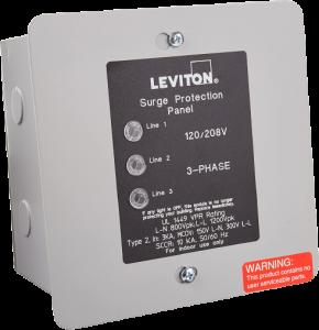 Leviton 51120-3 Volt 3 Panel Protector