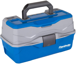 Flambeau Outdoors Classic 2-Tray Tackle Box
