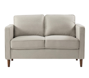 Mellow HANA Modern Loveseat Sofa - Best Couch for Cuddling